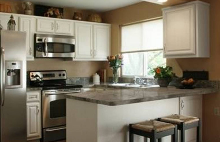 Discover Conventional Cum Fashionable Kitchen Decor With Wooden-mode Cupboards