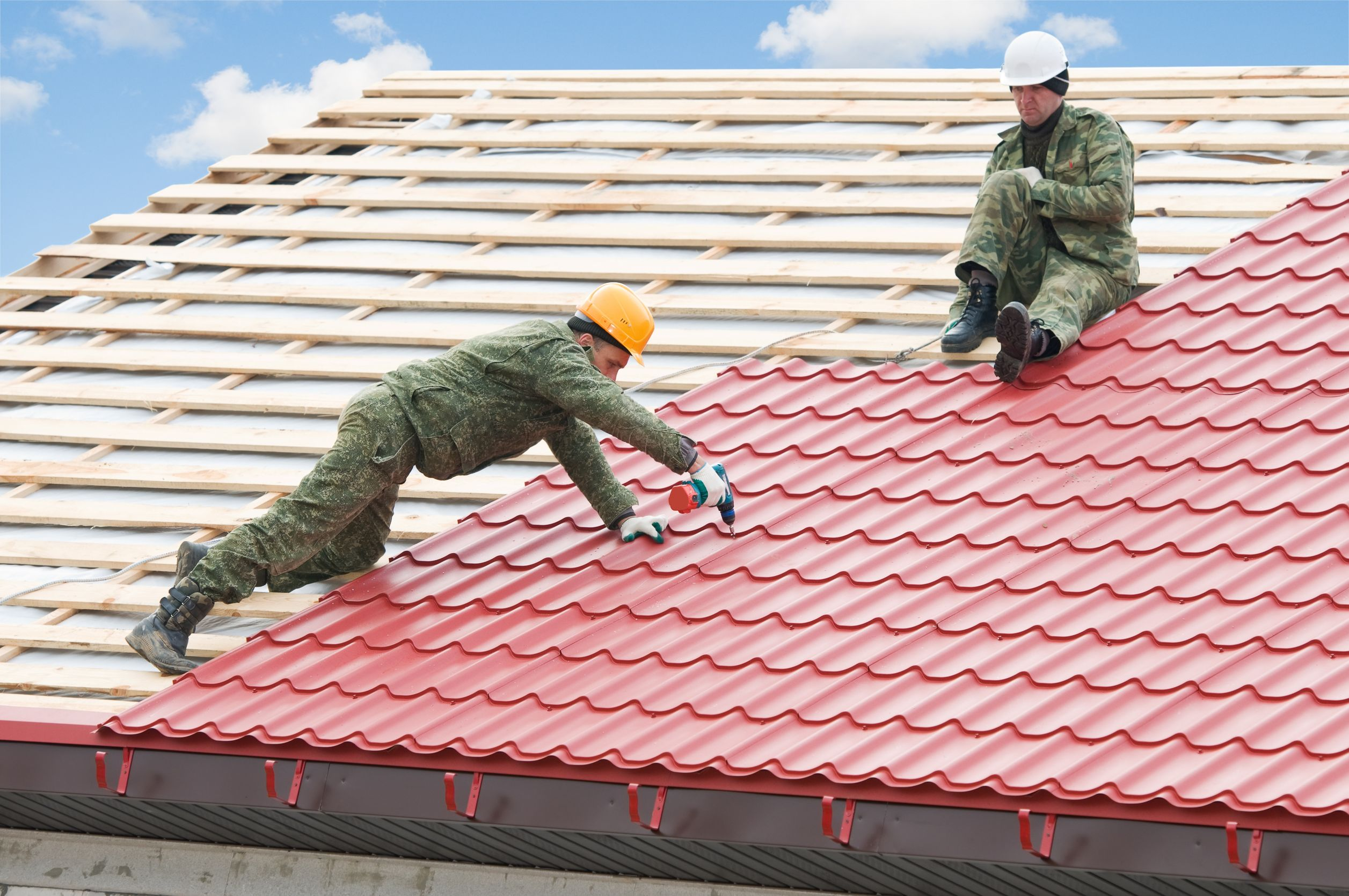 Materials used for Flat Roofing